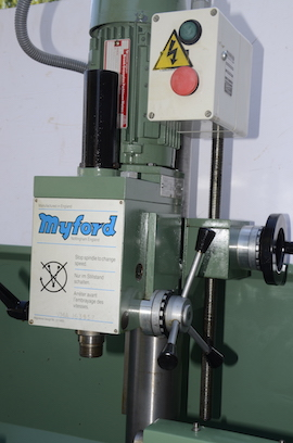 Rishton Geared Milling Head For Myford 254 254s Lathe For Sale