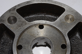 "backplate Bunerd 8"" 4 jaw independent slim body lathe chuck for sale"