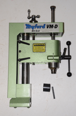 main view myford ML10 VMD milling machine lathe for sale