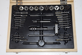 main view BA Tap & Die set for sale