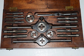 main view Lall Tap & Die set BSF for sale