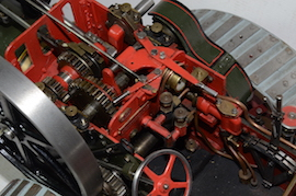 "motion view Allchin 1.5"" live steam traction engine for sale"