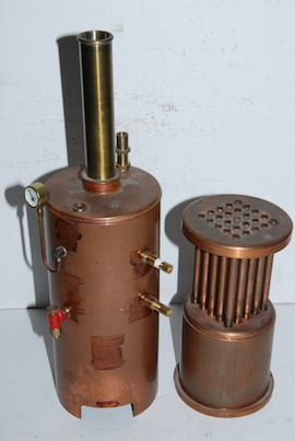 Model Steam Engine Boilers on pressure pensated flow control valve