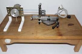 Chronos clock wheel cutting machine clockmakers for sale table view