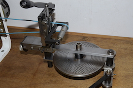 Chronos clock wheel cutting machine clockmakers for sale close view