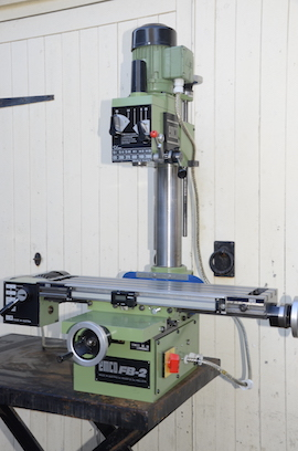 Emco Fb2 Vertical Milling Machine For Sale