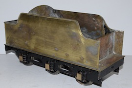 "tender2 view 2.5"" Midland live steam tender loco Jubliee or Royal Scott for sale"