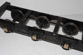 "chassis view 2.5"" Midland live steam tender loco Jubliee or Royal Scott for sale"