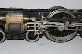 "motion view 2.5"" Midland live steam tender loco Jubliee or Royal Scott for sale"