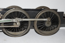 "wheels view 2.5"" Midland live steam tender loco Jubliee or Royal Scott for sale"