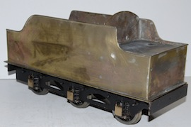 "tender view 2.5"" Midland live steam tender loco Jubliee or Royal Scott for sale"