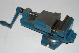 front view machine vice for sale