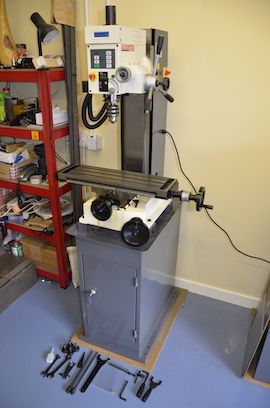 Sieg vertical milling machine Hi Torque for sale. Axminster